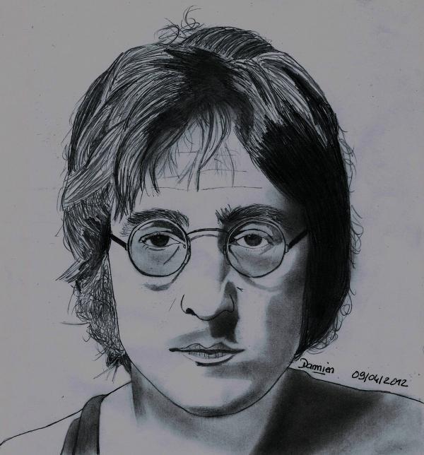 John Lennon by gohansaiyen2